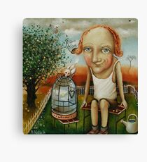 Catcher Of Happiness Canvas Print