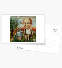 Catcher Of Happiness Postcards