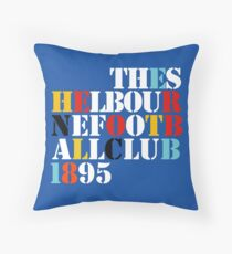 THE SHELBOURNE FOOTBALL CLUB 1895 (STONE ROSES) Throw Pillow