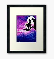 Jasmine & Aladdin Framed Print