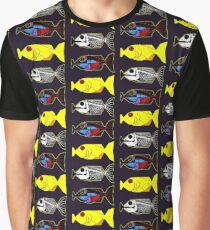 The Hitchhikers Guide to the Galaxy - 3 Babel Fish Graphic T-Shirt