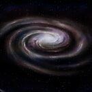 Spiral galaxy by Paul Fleet