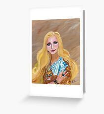 The Muse Greeting Card