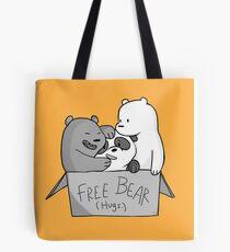 We Bare Bears  Free Bear Hug Tote Bag
