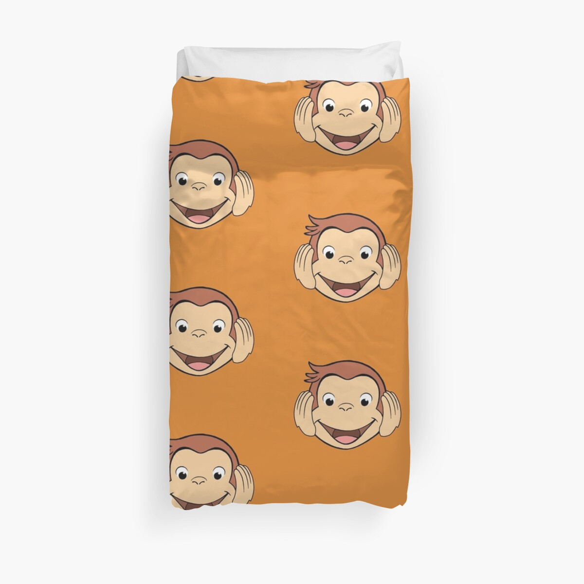 George No Ears Duvet Cover