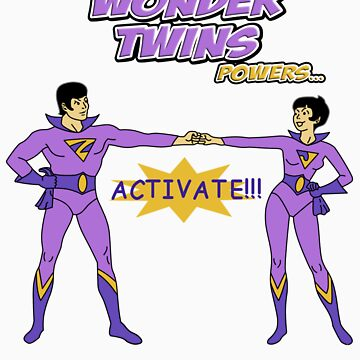 Twins With Power Rings