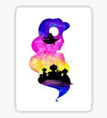 Princess Jasmine Double Exposure! Sticker