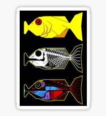 The Hitchhikers Guide to the Galaxy - 3 Babel Fish Sticker