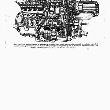 Delage Engine by superleggera