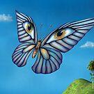 Surreal butterfly by Paul Fleet