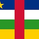 Central African Republic (C.A.R.) Flag Products by Mark Podger