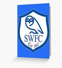 Sheffield wednesday logo Greeting Card