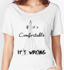 It's Wrong - Silks Women's Relaxed Fit T-Shirt