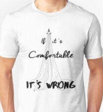 It's Wrong - Silks Unisex T-Shirt