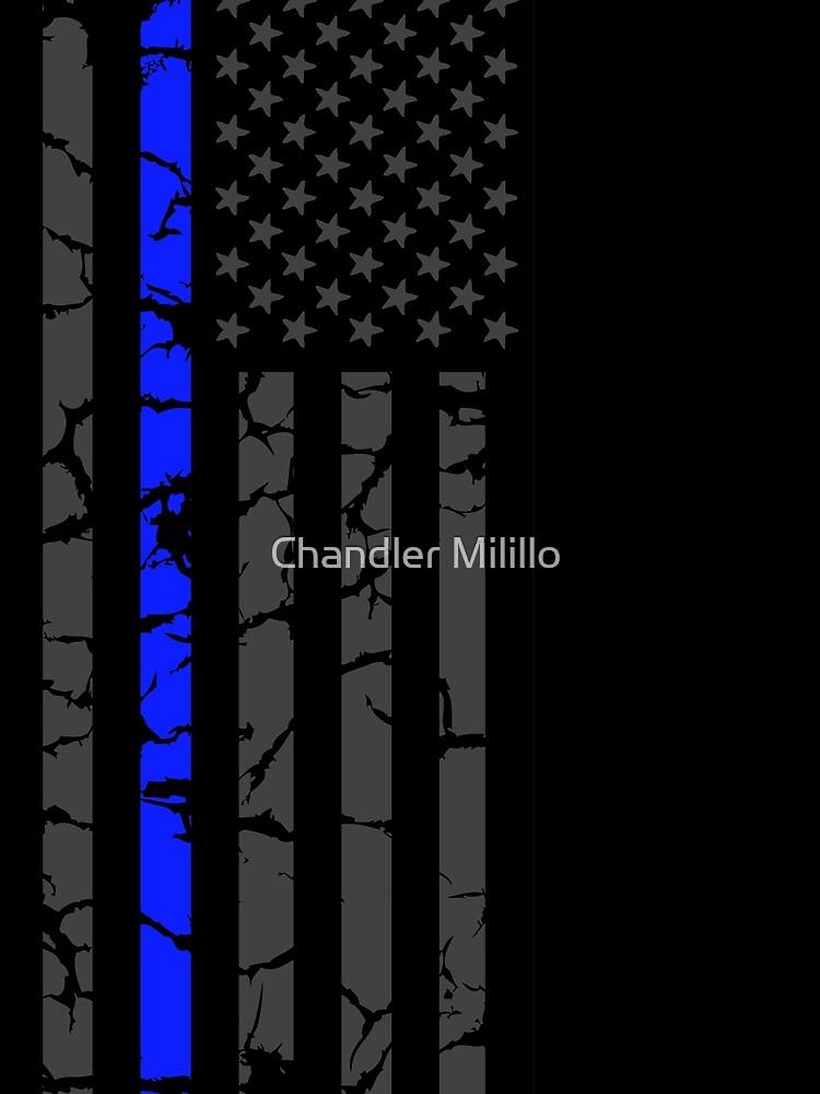 Dünne blaue Linie - ich blute blau von ChannyTatum