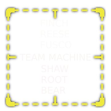Person Of Interest - Members of Team Machine by TeamMachineShaw