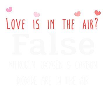 ¿El amor está en el aire? Falso. de Caretta