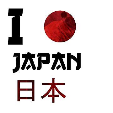 I love Japan by Rebellion-10