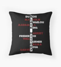 BLACK HISTORY  Throw Pillow