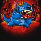 Stitchzilla by harebrained