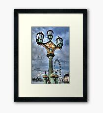 Westminster Lamps Framed Print