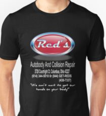 Red's Auto Body and Collision repair Unisex T-Shirt