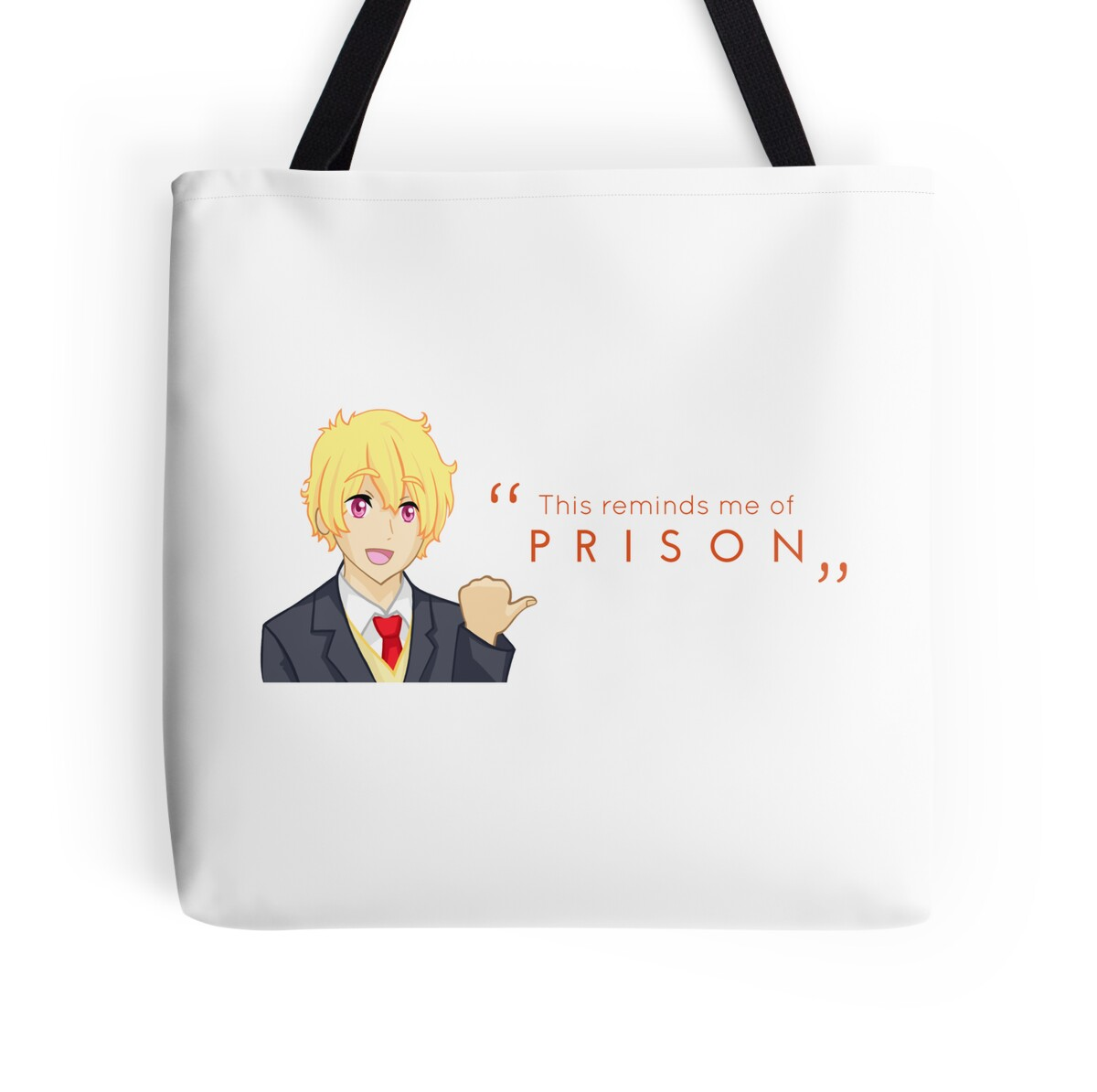 Thugisa 50 off reminds me of prison tote bags by for Home decor 50 off