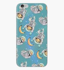 Space Critters - Hamster and Monkey iPhone Case