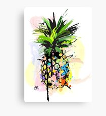 Pineapple Art Canvas Print