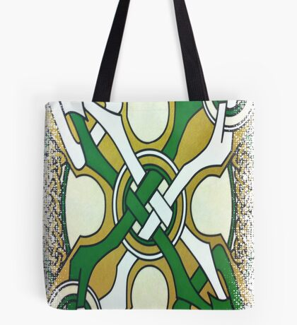 DAY 111 -  (365 DAY PROJECT - 'ONE DAY AT A TIME')  CELTIC DESIGN   Tote Bag