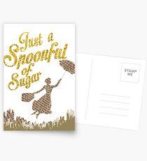 Spoonful of sugar Postcards