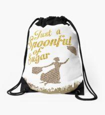 Spoonful of sugar Drawstring Bag