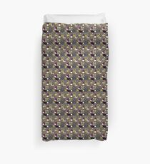 Retro 50s abstract Duvet Cover