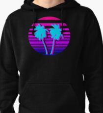 Aesthetic Palm trees Pullover Hoodie