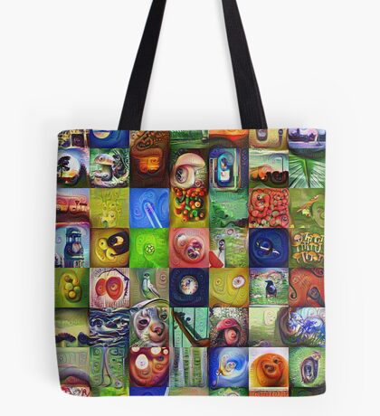 BlackHalt`s Instagram Photos #DeepDreamed Tote Bag