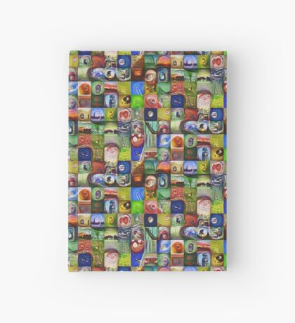 BlackHalt`s Instagram Photos #DeepDreamed Hardcover Journal