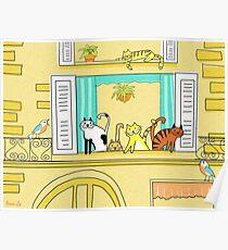 Kitty-Kat Chateau Poster