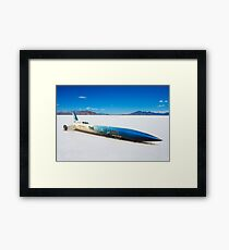 The Blue Flame at Bonneville Framed Print