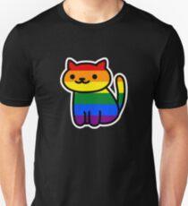 Neko Pride: Schwul Slim Fit T-Shirt