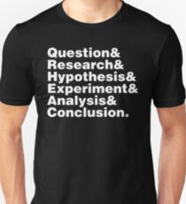 Scientific Method Helvetica T-Shirt
