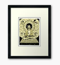 The Tao of Dude Framed Print