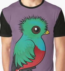 Birdorable Resplendent Quetzal Graphic T-Shirt