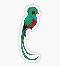Birdorable Resplendent Quetzal Sticker