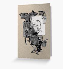 Alfred Hitchcock Grußkarte