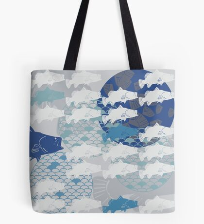 Barramundi Throw Pillow Tote Bag