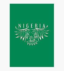 World Cup: Nigeria Photographic Print