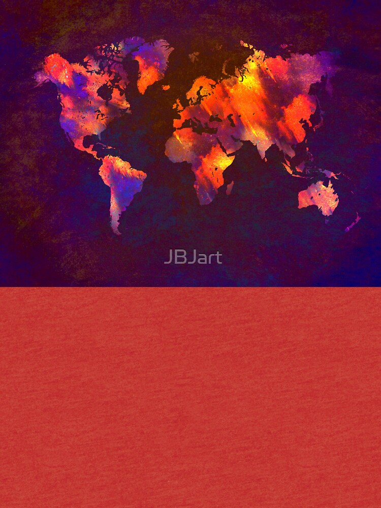 Weltkarte von JBJart