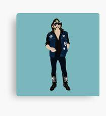 Tribute: Lemmy Canvas Print