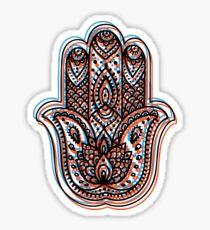Hamsa Design 3 Sticker