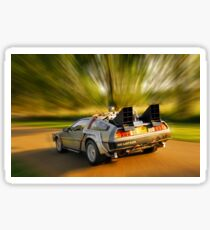DELOREAN.... Back to the Future. Sticker